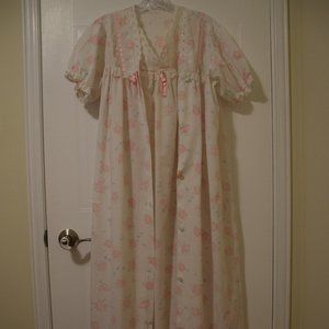 Women's Summer Dressing Gown and Nightgown- Size L